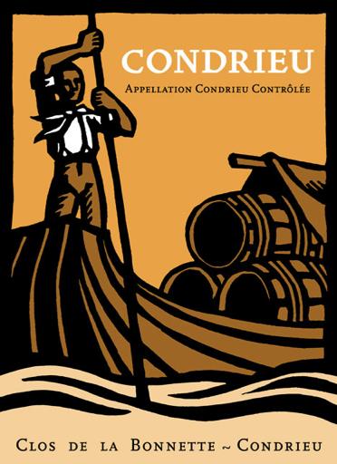 Conception d'une étiquette de vin — 2010