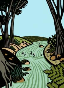 Collectivités territoriales du Rhône — À l'eau les poissons — 2010