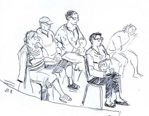 Des auditeurs