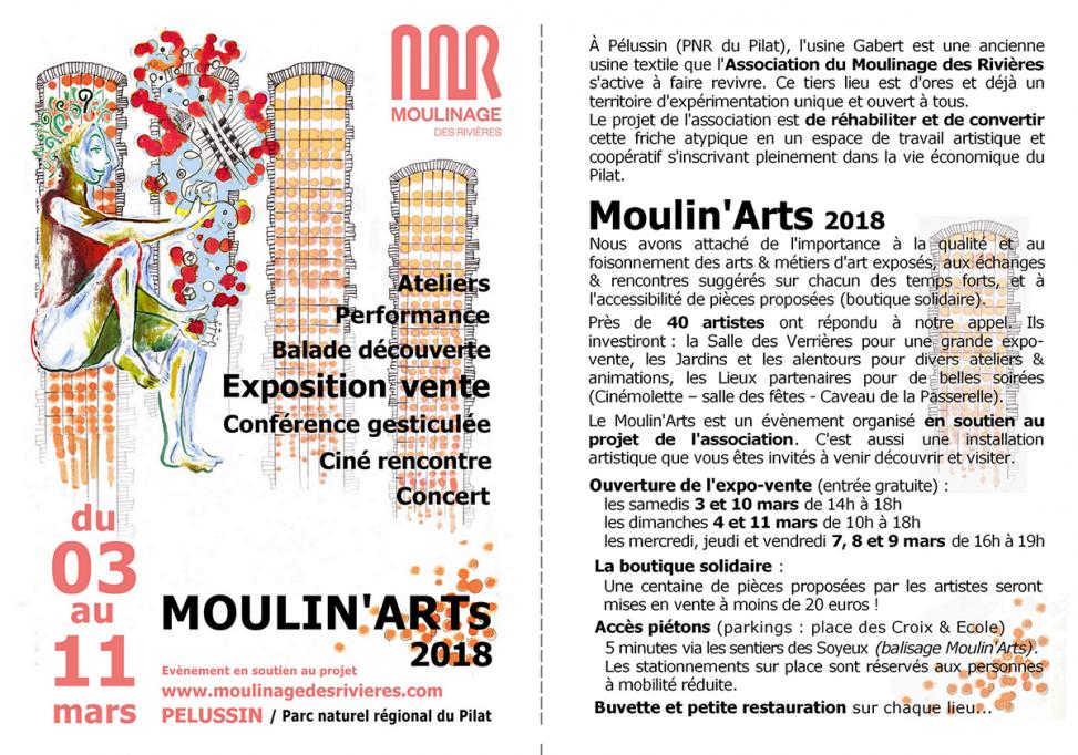 Expo Moulinage des rivières 2018
