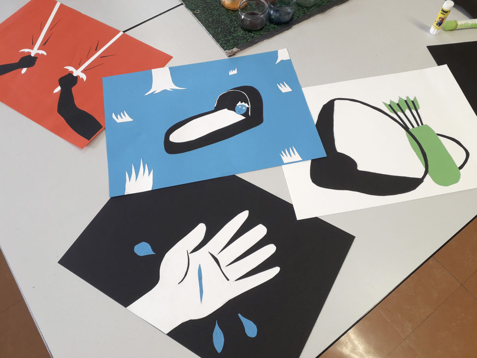 Atelier_kamishibaï au lycée_Catherine Chion